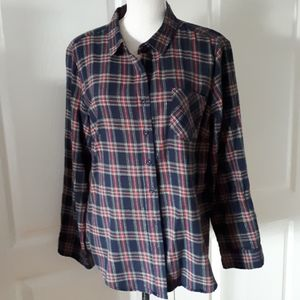 Alexander Jordan plaid shirt